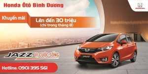 Giá xe ô tô Honda tháng 08/2018