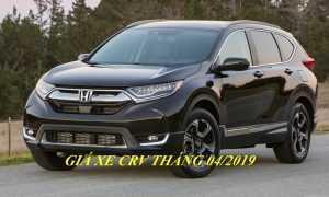 Honda CR-V 2019: khuyến mãi, giá lăn bánh (04/2019)