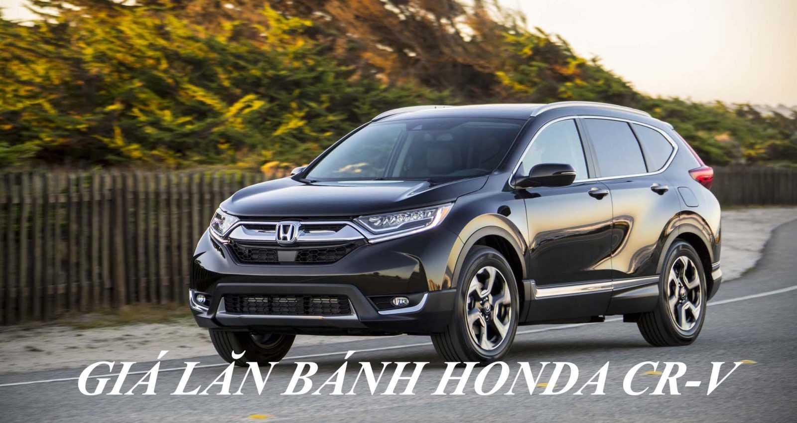 Giá lăn bánh Honda CRV 2019