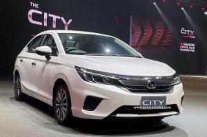 Honda City 2020 ra mắt giá từ 443 triệu tại Thái Lan