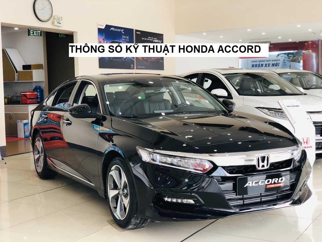 Thông số kỹ thuật Honda Accord 2020 | Honda Ôtô Bình Dương