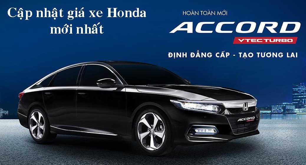 Bảng giá xe Ôtô Honda 2020 mới nhất (tháng 09/2020)